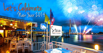Steve Café & Cuisine Invites you to celebrate New Year Eve